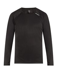 2Xu Tech Vent Long Sleeved Performance Top Black