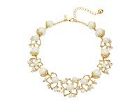 Kate Spade Pearl Street July Statement Necklace Cream Multi Necklace