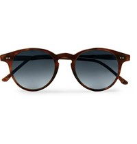 b09995acb0 Kingsman Cutler And Gross Round Frame Tortoiseshell Acetate Sunglasses
