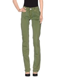Tommy Hilfiger Denim Trousers Casual Trousers Women Green