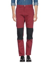 Versace Jeans Casual Pants Brick Red