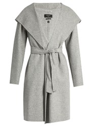 Max Mara Harlem Coat Light Grey