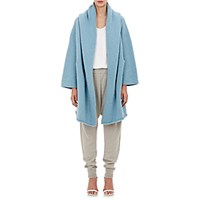 Lauren Manoogian Women's Hooded Capote Coat Light Blue