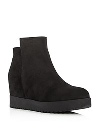 Kenneth Cole Moira Wedge Booties Black