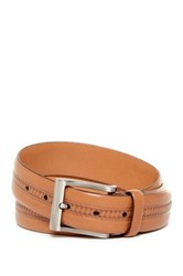 Tommy Bahama Paradise Bound Leather Belt Beige