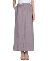 Lo Not Equal Long Skirts Purple