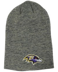 New Era Baltimore Ravens Slouch It Knit Hat Gray