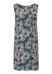 Betty And Co. Floral Print Shift Dress Multi Coloured Multi Coloured