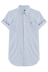 Polo Ralph Lauren Cotton Shirt Blue