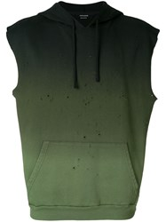 Zadig And Voltaire Styx Hoodie Green