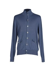 Private Lives Knitwear Cardigans Men Blue