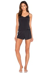 Yummie Tummie Hollywood Romper Black