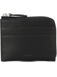 Mismo 'Card' Zip Up Wallet Black