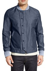 Men's Spiewak 'Deck' Cotton Jacket Blue Chambray