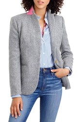 J.Crew Women's Collection Campbell Donegal Wool Blazer