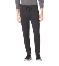 Michael Kors Mens Merino Wool Drawstring Pants