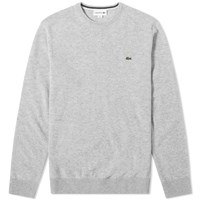 Lacoste Lambswool Crew Knit Grey