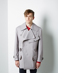 Maison Martin Margiela Line 14 Replica Trench Light Grey