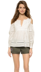 Thakoon Open Shoulder Blouse