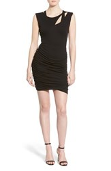 Women's Pam And Gela Ruched Body Con Dress