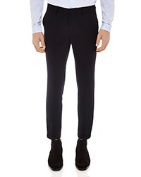 Sandro Berkeley Slim Fit Trousers Navy