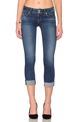Hudson Jeans Ginny Straight Ankle Point Break