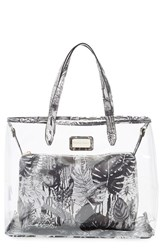 Cxl By Christian Lacroix 'Amaryllis' Clear Tote Black Amazonie Black