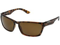 Suncloud Polarized Optics Cutout Tortoise Frame Brown Polycarbonate Lenses Fashion Sunglasses Multi