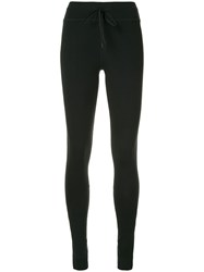 The Upside Cropped Compression Top Black