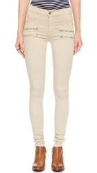 James Jeans Twiggy Crux Zip Legging Jeans Winter White