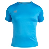 Canterbury Of New Zealand Vapodri Super Lightweight Logo T Shirt Blue
