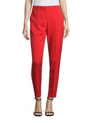 Boss Timera Micro Stretch Pants Poppy Red