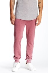 Threads 4 Thought Vintage Washed Terry Jogger Red