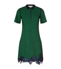 3.1 Phillip Lim Embroidered Polo Dress Female Green