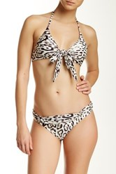 Vix Swimwear Kai Off Loop Bottom Full Coverage Beige