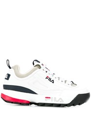 Fila Low Top Sneakers White