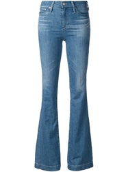 Ag Jeans Flared Jeans Blue