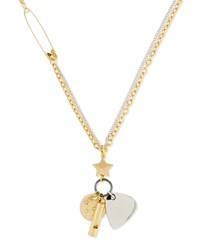 Marc Jacobs Music Star Charm Necklace 30