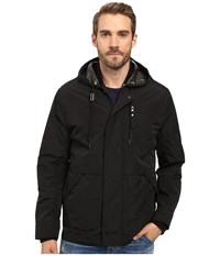 Marc New York Graham Rain Tech 3 In 1 Systems Jacket With Removable Quilted Jacket Black Men's Coat