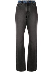 Zadig And Voltaire Two Tone Jeans Grey