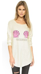 Wildfox Couture Venice Shells Tuscany Tunic Vintage Lace