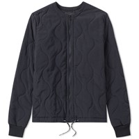 Olaf Hussein Quilted Jacket Blue