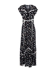 The Kooples Long Dresses Black