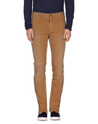 Closed Denim Denim Trousers Men Camel