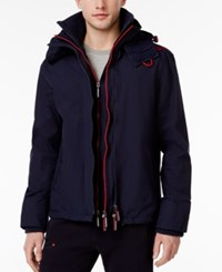 Superdry Men's Technical Hooded Jacket Nautical Navy