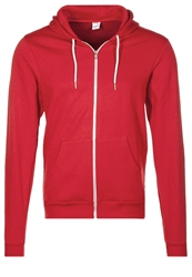 American Apparel Tracksuit Top Red