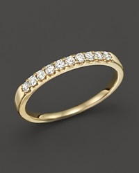 Bloomingdale's Diamond Band Ring In 14K Yellow Gold .25 Ct. T.W.