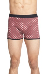 Topman Polka Dot Jersey Boxer Briefs 3 Pack Purple Multi