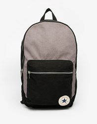 Converse Canvas Backpack In Black 13639C 046 Black