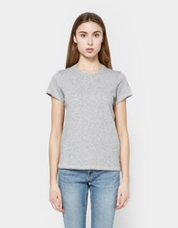 Rag And Bone The Tee In Heather Grey